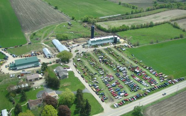 auction aerial